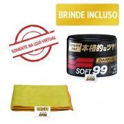 Soft99 Dark e Black Cera Protetora de carnaúba Premium 300g
