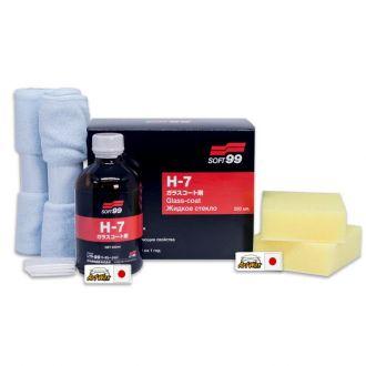 Soft99 H-7 Vitrificador 200ml - 3 Anos de Proteção