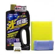 Soft99 Shampoo Dark Gloss Limpeza e Brilho - Carros Preto/Escuros 700ml