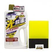 Soft99 Shampoo White Gloss Limpeza e Brilho - Carros Claros 700ml