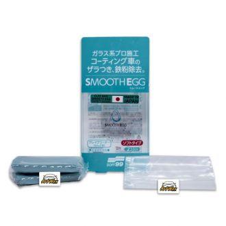 Soft99 Smooth Egg Clay Bar Descontaminante Macia - 100g