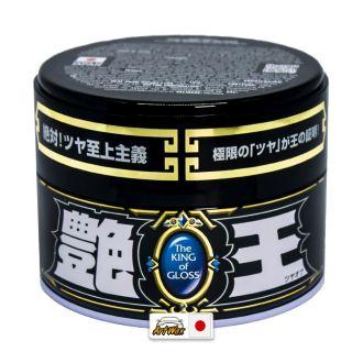 Soft99 The King Of Gloss Black e Dark 300g - Cera alto Brilho Cores Escuras