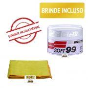 Soft99 White Cleaner Cera Limpadora de carnaúba 350g.