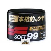 Soft 99 Dark e Black Cera de carnaúba Premium 300g