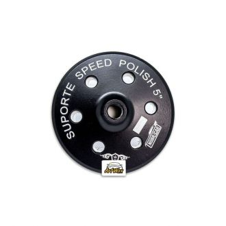 "Suporte 5"" Speed Polish Black Rosca 5/8 Nobre Car"