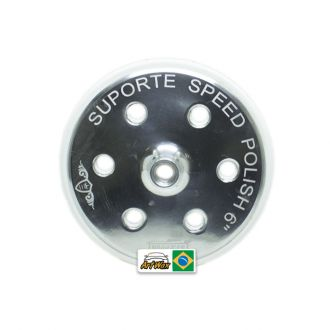 "Suporte 6"" Speed Polish Metal Rosca 5/8 Nobre Car"