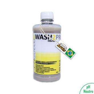 Wash2Pro 500ml Lavagem a Seco e Enceramento Go Eco Wash