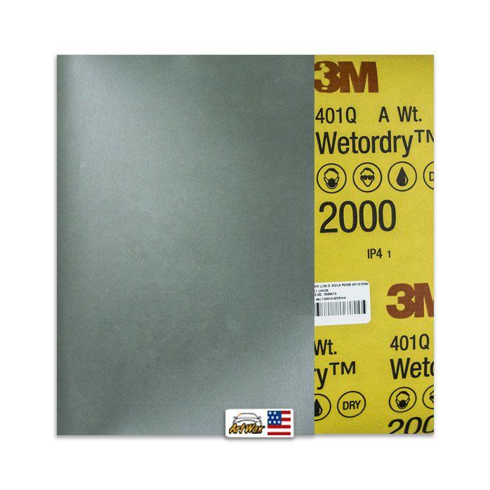 3M Lixa D´Água P2000 401Q 02044 (1 unidade) 140mmx228mm