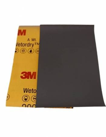 3M Lixa D´Água P2500 401Q 02045 (1 unidade) 140mmx228mm