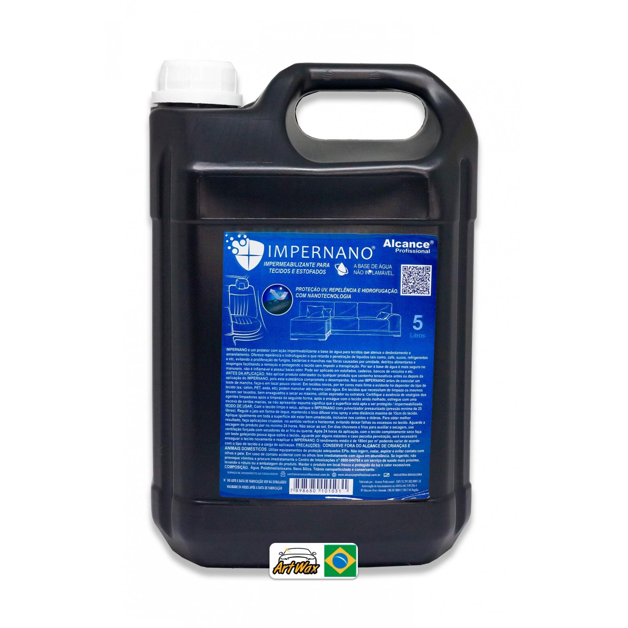 Alcance Impernano 5L - Protetor de Tecidos e Estofados com Ação Impermeabilizante