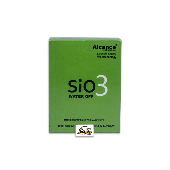 Alcance SIO3 Impermeabilizante Cristalizador de Vidros 50ml