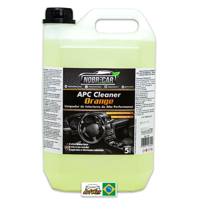 Apc Cleaner Orange Nobre Car 5L