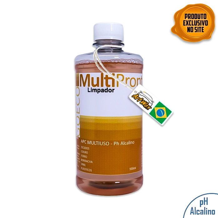APC MultiPronto 500ml Limpador Multiuso Perfumado Go Eco Wash