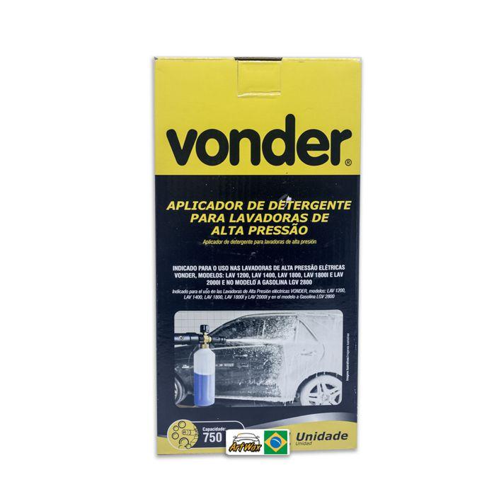 Aplicador de Detergente 750ml Vonder - Para Lavadoras de Alta Pressão