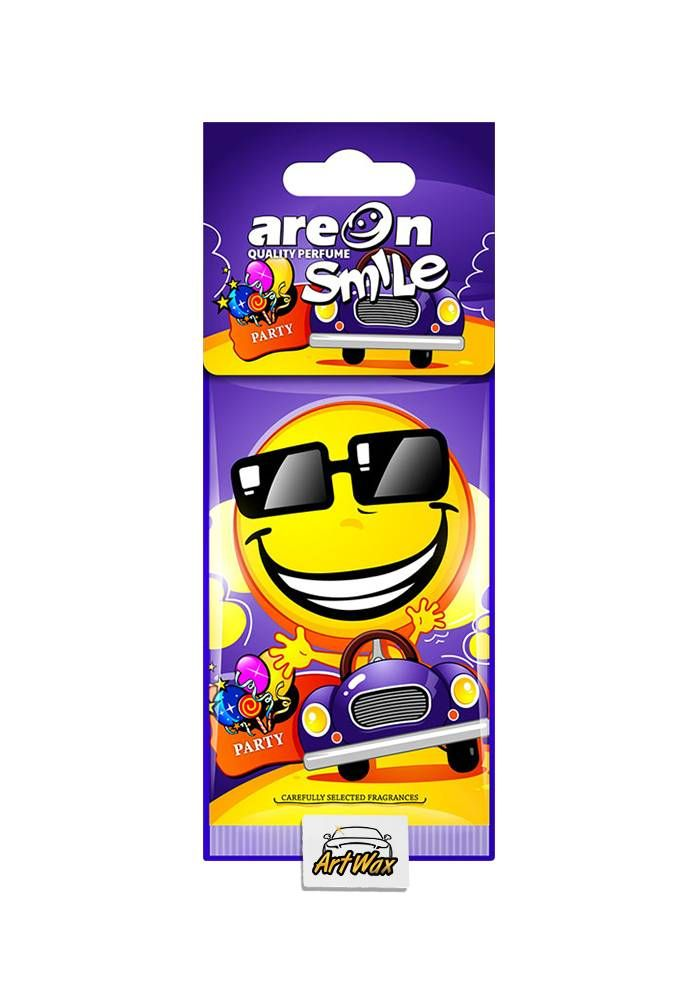 Areon Aromatizante Seco Smile Party