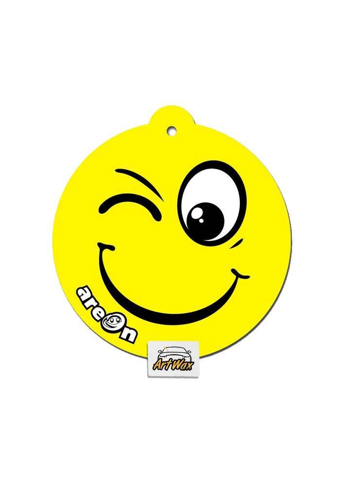 Areon Aromatizante Seco Smile Vanilla - Baunilha Suave