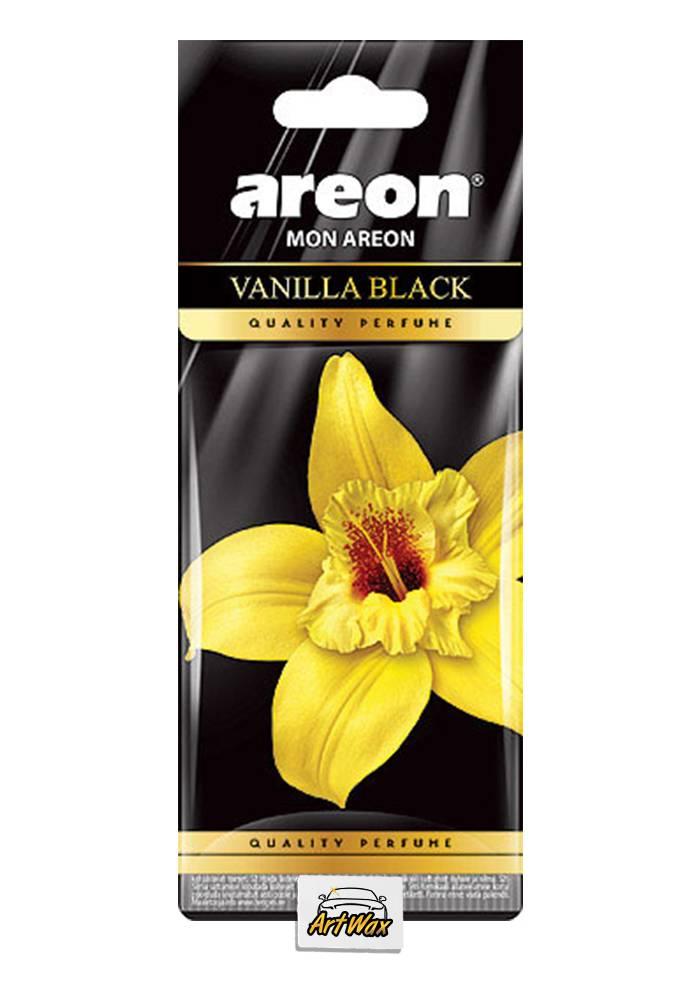 Areon Aromatizante Seco Vanilla Black - Baunilha