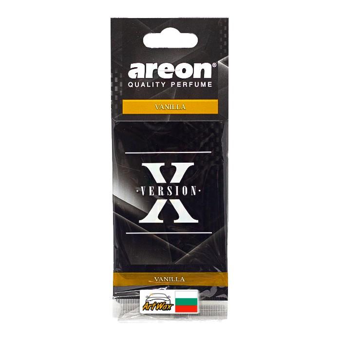 Areon Aromatizante Seco X Version Vanilla - Baunilha Suave