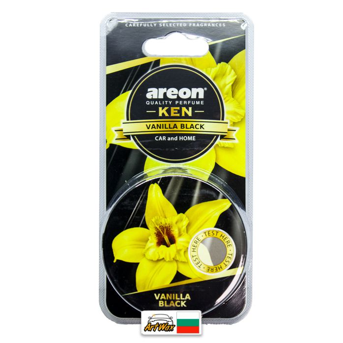 Areon Ken - Vanilla Black - Baunilha 35g