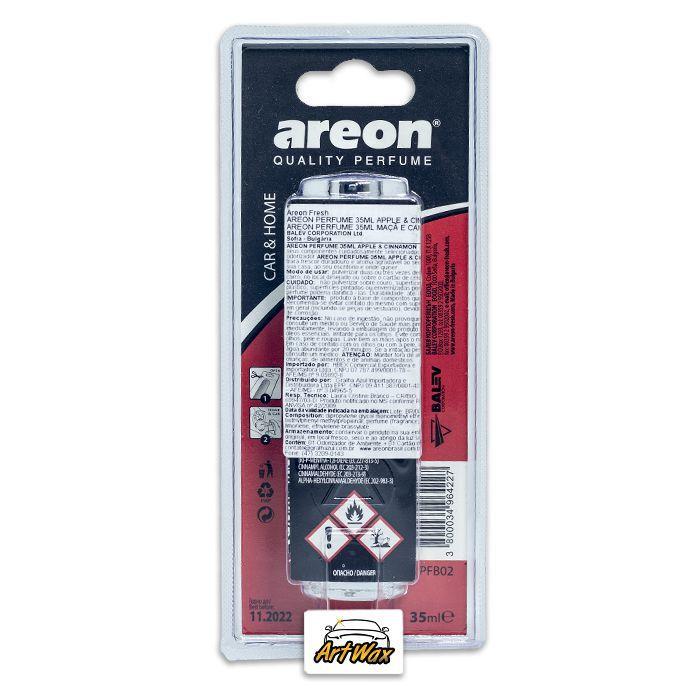 Areon Odorizador Spray Apple & Cinnamon - Maçã e Canela 35ml