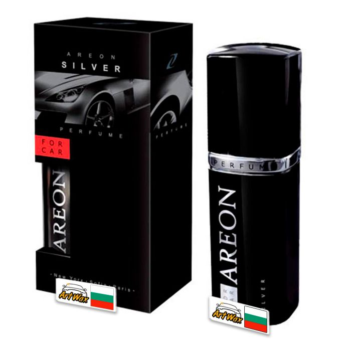 Areon Perfume Para Carro - For Car Silver 50ml