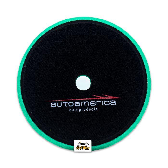 """Autoamerica Boina de Espuma Verde - Corte 6.5"""""""