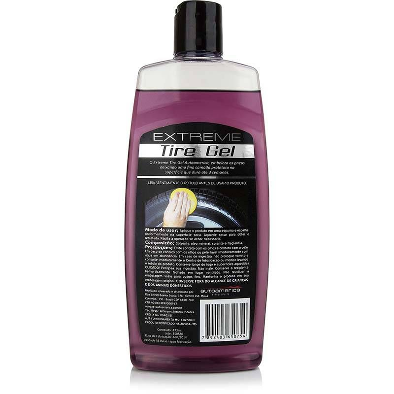 Autoamerica Extreme Tire Gel 473mL