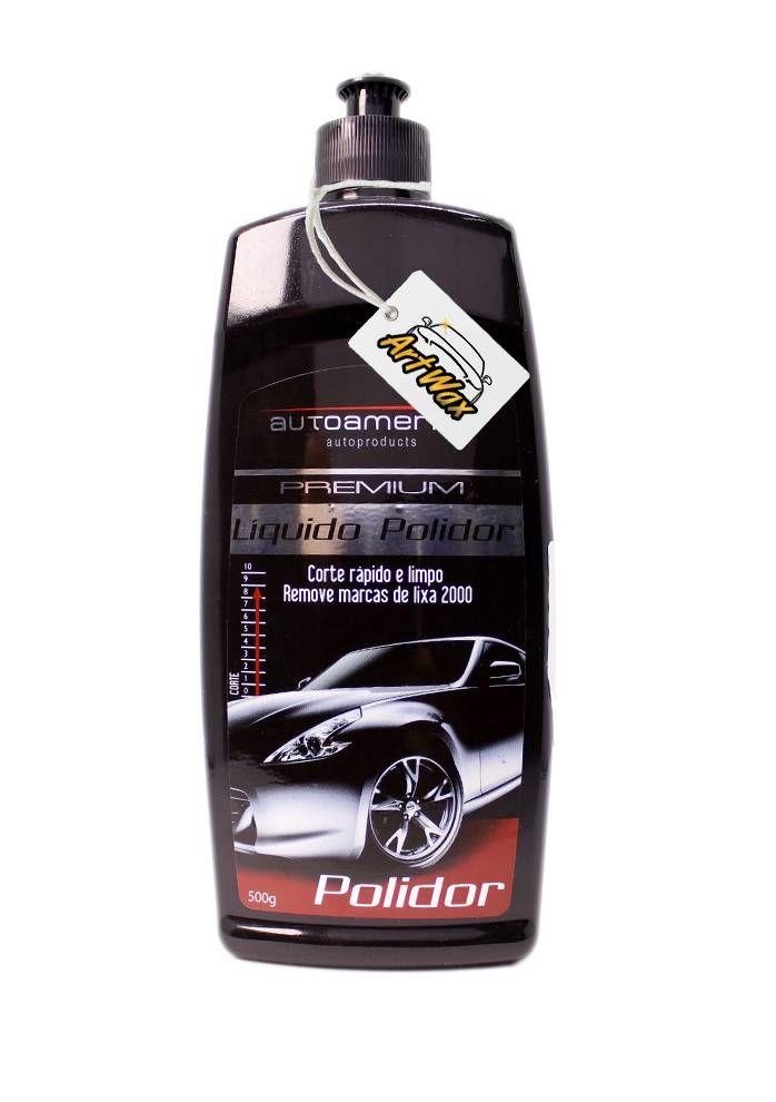 Autoamerica Líquido Polidor Premium 500g - Corte