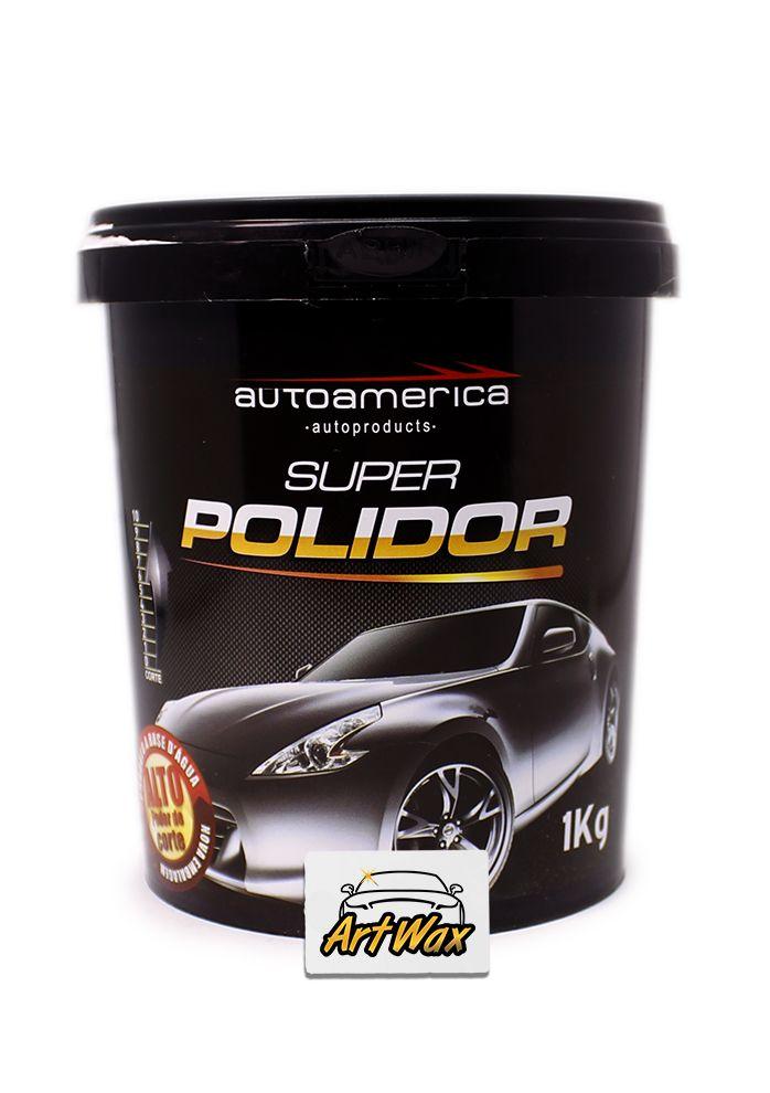 Autoamerica Massa de Polir Super Polidor (1kg)