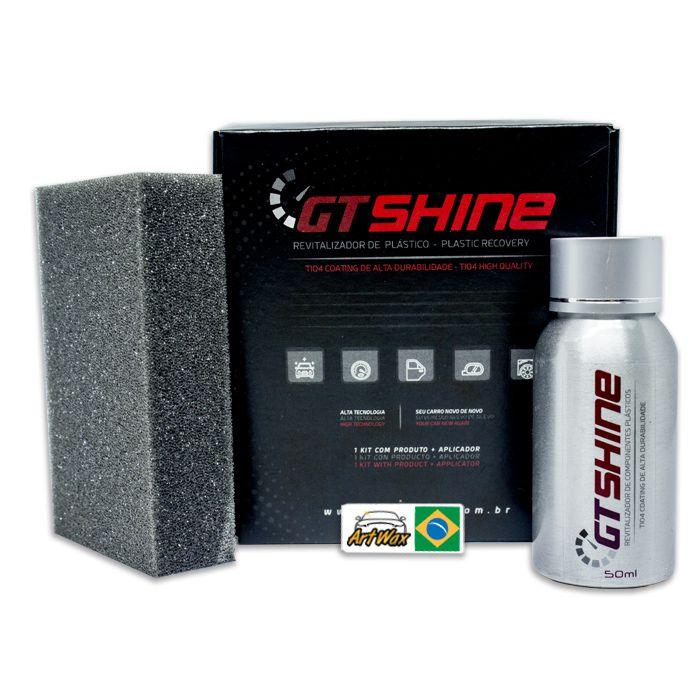 Autoamerica Plastic Coating GT Shine 50ml - Revitalizador de Plásticos