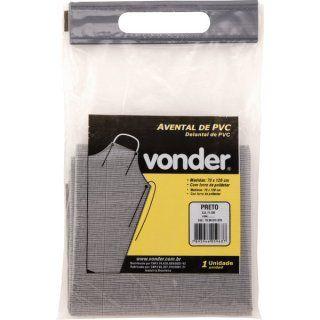 Avental PVC com Forro Preto 1,20m x 0,70m Vonder