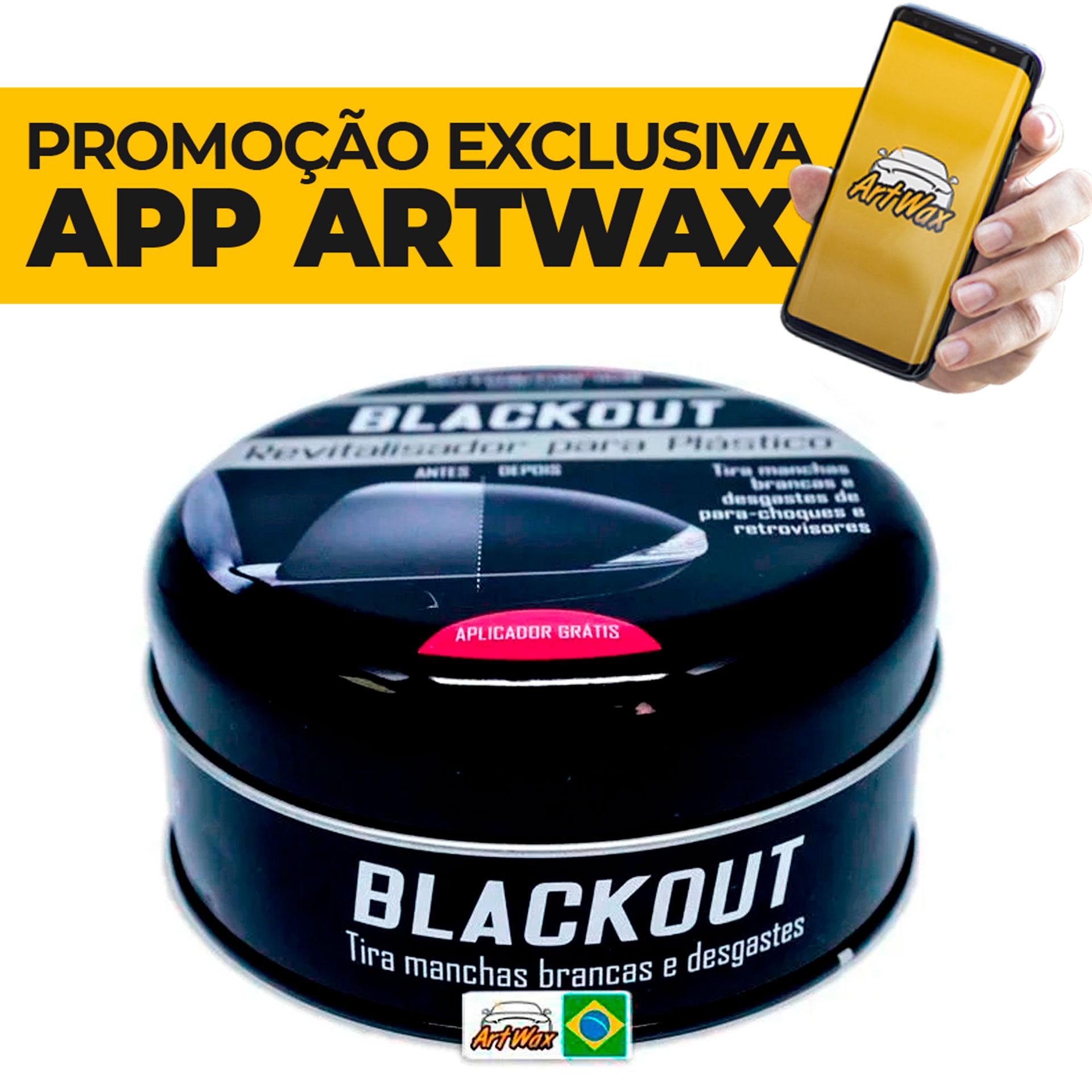 Blackout 100g Revitalizador de Plásticos Externo Autoamerica