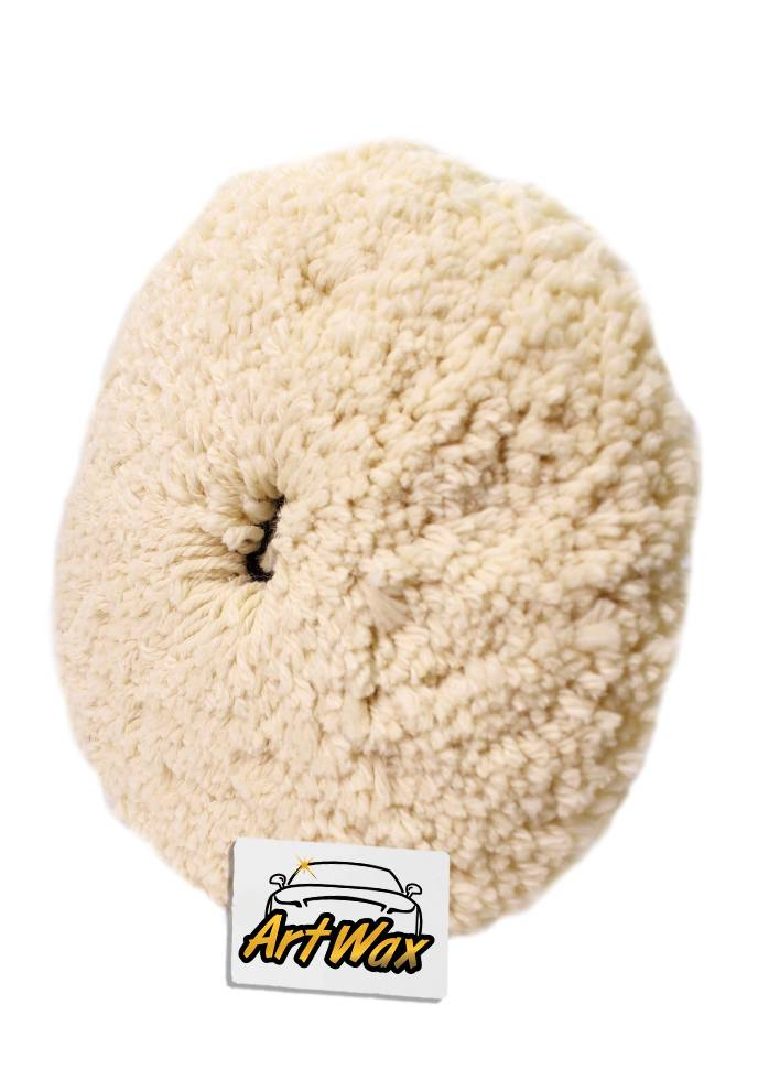 Boina de Lã 8´´ Polifácil Fio Branca Corte 320393 Lincoln