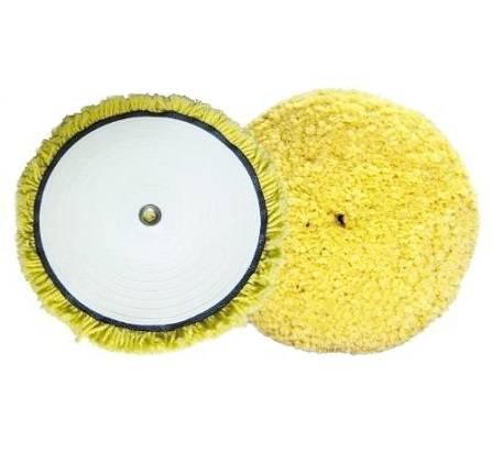 Boina de Lã 8´´ Polifácil Fio Macia Amarela 320430 Lincoln
