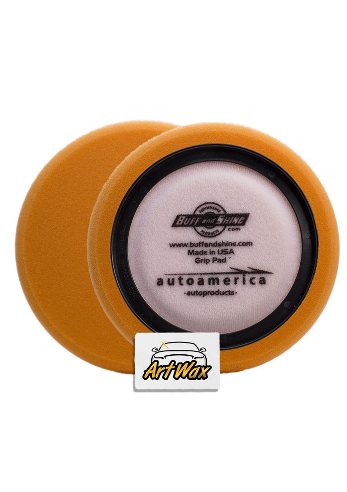Buff and Shine Boina de Espuma Agressiva Laranja 7.5´´, 680R