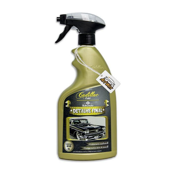 Cadillac Detalhe Final - Quik Detailer - 650ml