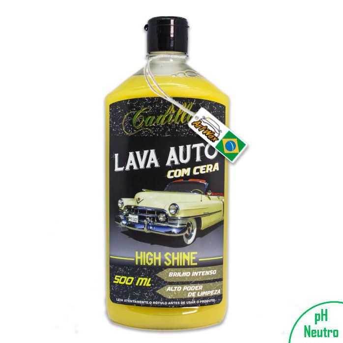 Cadillac Lava Autos High Shine com Cera 500ml