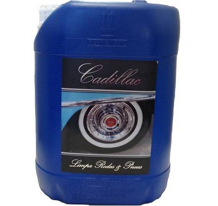 Cadillac Limpa Rodas e Pneus - 5L