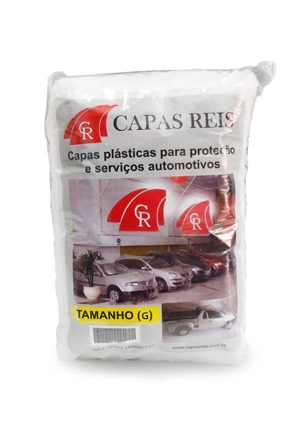 Capa Automotiva Transparente Tamanho G - Capa Reis (1un)