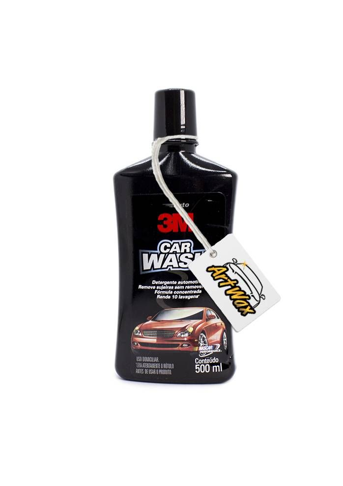 Car Wash 3M Shampoo Automotivo 500 ml