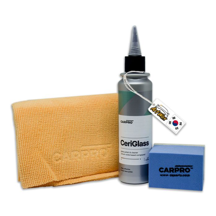 Carpro Ceri Glass 150ml - Kit Polidor Para Vidro