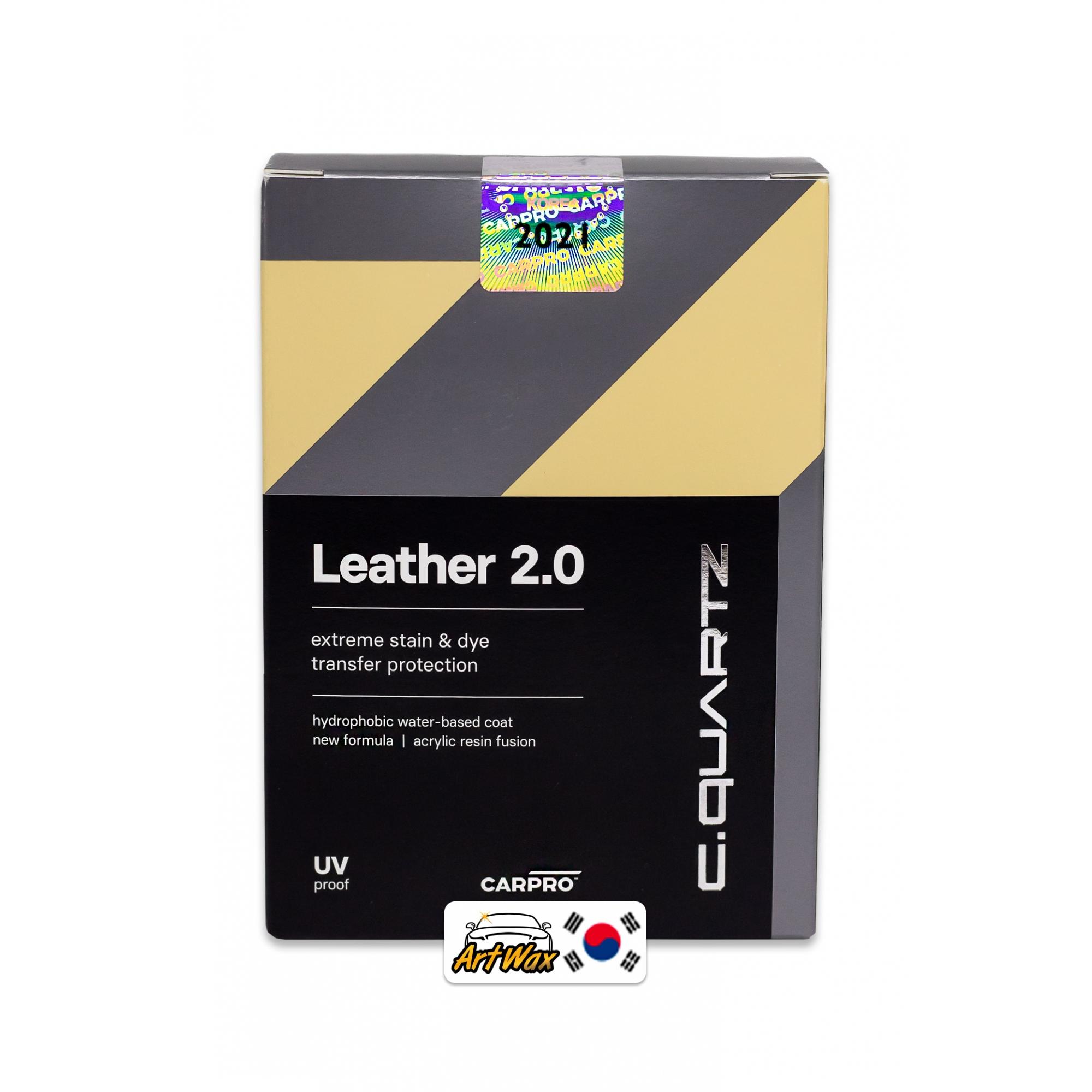 Carpro Leather 2.0 30ml - Revestimento Para Couro Base D'Água