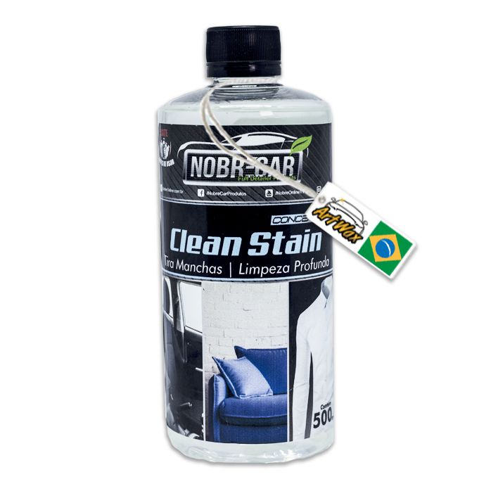 Clean Stain 500ml - Tira Manchas de Tecidos Nobre Car