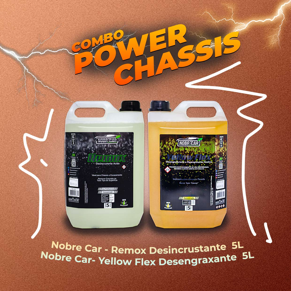 Combo Power Chassis Nobre Car