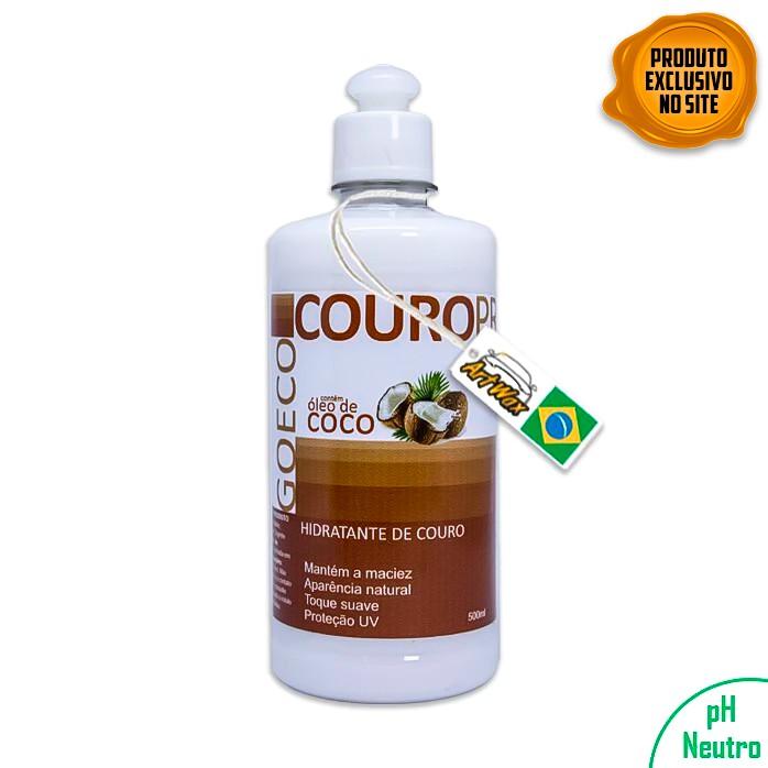 CouroPro 500ml Hidratante de Couro com óleo de coco Go Eco Wash