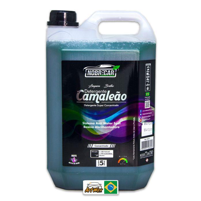 Detergente Camaleão 1:200 Nobre Car 5L