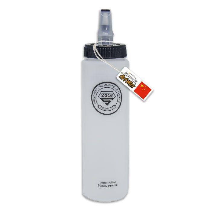 Dispenser Squeeze Preto Com Tampa SGCB 300ml