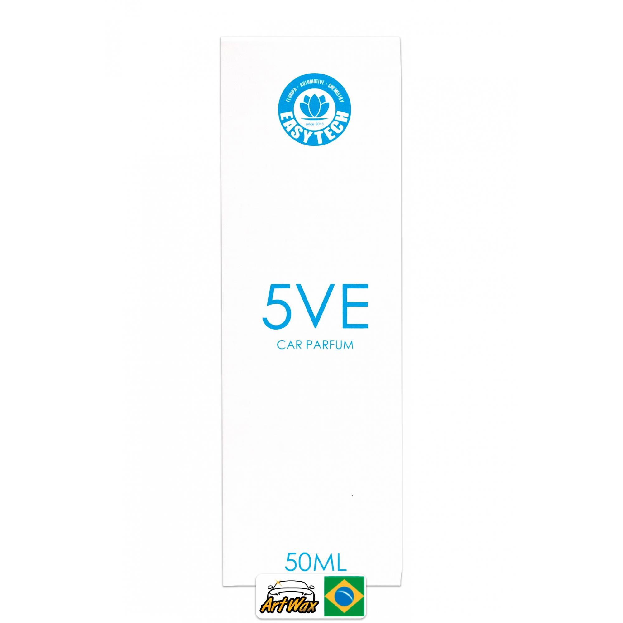Easytech 5VE Car Parfum - Aromatizante Spray 50ml
