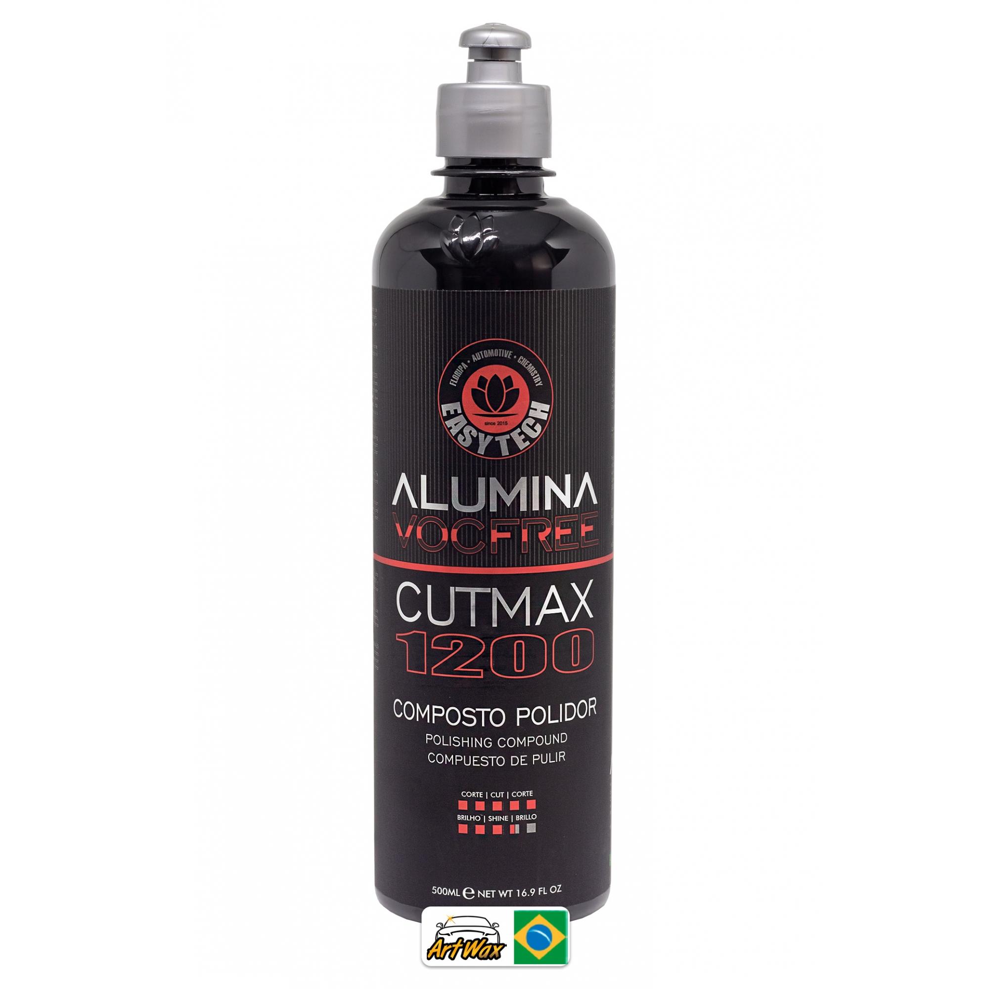 Easytech Alumina 1200 Cut Max 500ml - Composto Polidor de Corte Pesado
