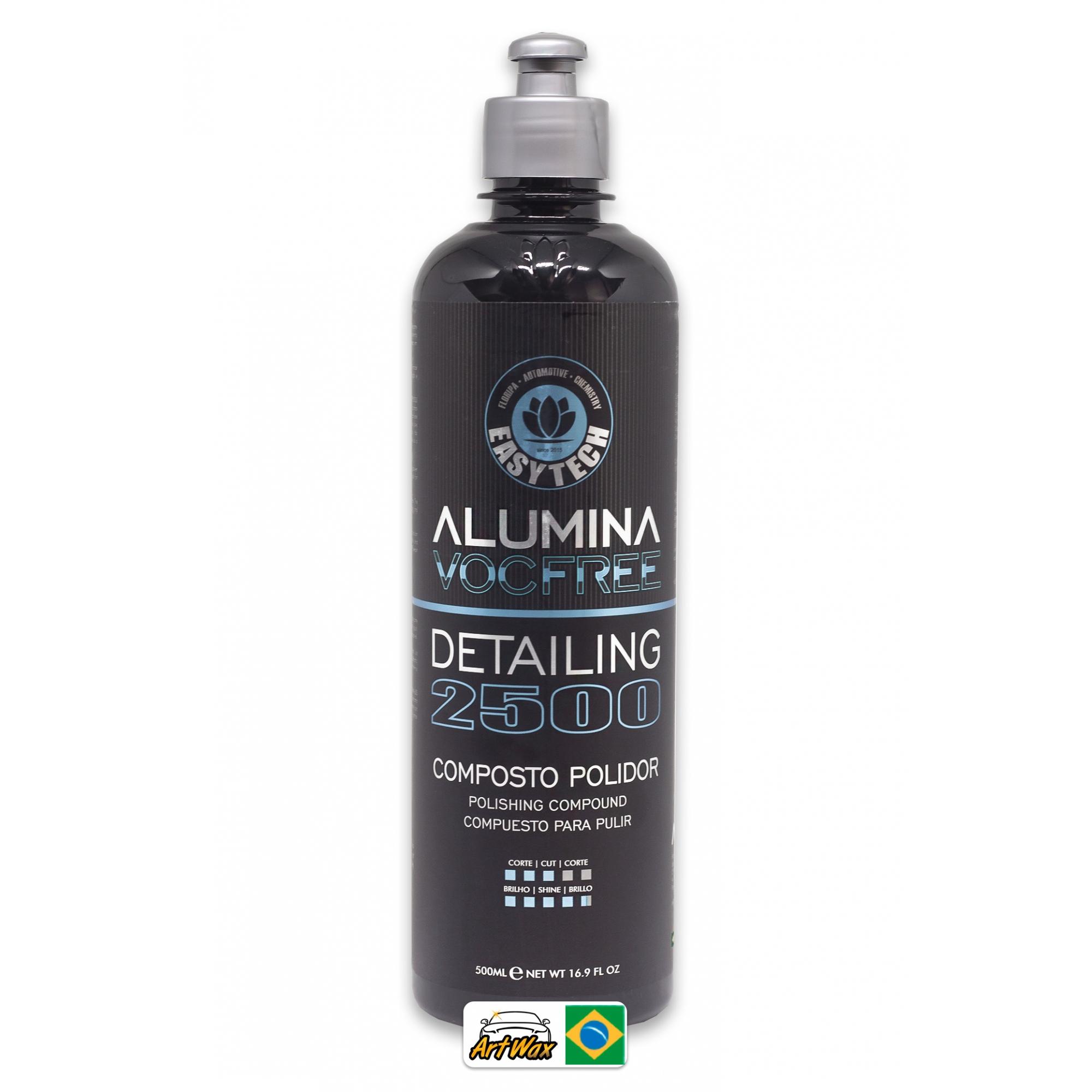 Easytech Alumina 2500 Detailing 500ml - Composto Polidor Refino